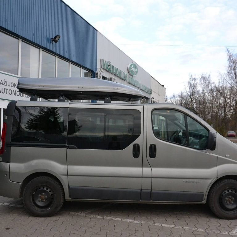 Nuomojamas mikroautobusas Renault Trafic